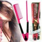 Salon Styling Hairdressing Hair Straightener V Comb