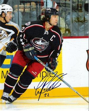 Luke Richardson Columbus Blue Jackets signed 8x10 photo