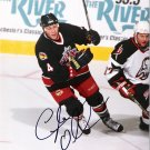 Lyle Odelein Columbus Blue Jackets signed 8x10 photo
