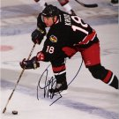 Robert Kron Columbus Blue Jackets signed 8x10 photo