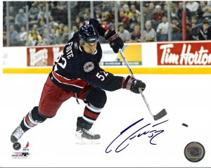 Adam Foote Columbus Blue Jackets signed 8x10 photo