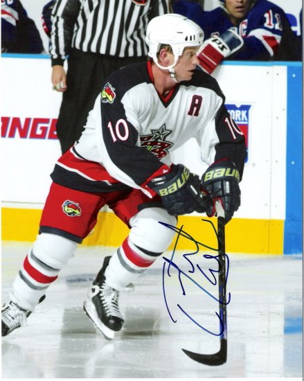 Trevor Letowski Columbus Blue Jackets signed 8x10 photo