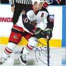 Trevor Letowski Columbus Blue Jackets signed 8x10 photo
