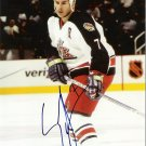 Scott Lachance Columbus Blue jackets signed 8x10 photo