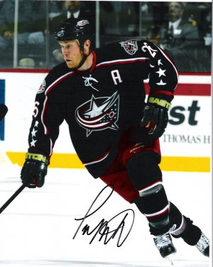 Todd Marchant Columbus Blue Jackets signed 8x10 photo