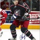Alexandre Svitov Columbus Blue Jackets signed 8x10 photo