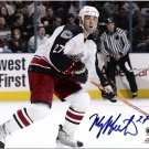 Manny Malhotra Columbus Blue Jackets signed 8x10 photo