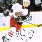 David Vyborny Columbus Blue Jackets signed 8x10 photo
