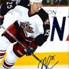 Jason Chimera Columbus Blue Jackets signed 8x10 photo