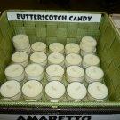 Butterscotch Candy 4 pack Tealights