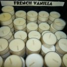French Vanilla 4 pack Tealights