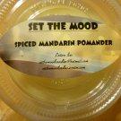 spiced mandarin pommander lotion bar