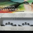 #1 Fashion fake reuseable eyelashes (fish picture) G NBU NBW NBO