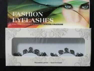 #1 Fashion fake reuseable eyelashes (fish picture) G NBU NBW NBO