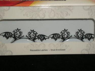 #3 Fashion fake reuseable eyelashes (fish and starfish picture) G NBU NBW NBO