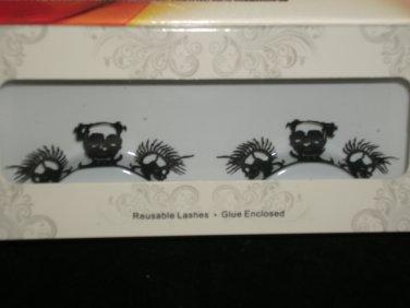 #7 Fashion fake reuseable eyelashes (skeletor  picture) G NBU NBW NBO