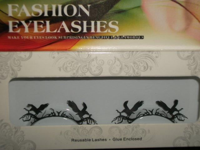 #18 Fashion fake reuseable eyelashes (eagle picture) G NBU NBW NBO