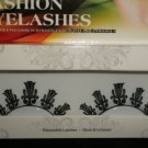 #22 Fashion fake reuseable eyelashes (flower picture) G NBU NBW NBO