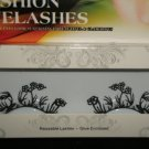 #23 Fashion fake reuseable eyelashes (flower picture) G NBU NBW NBO