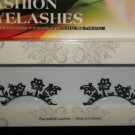 #24 Fashion fake reuseable eyelashes (flower picture) G NBU NBW NBO