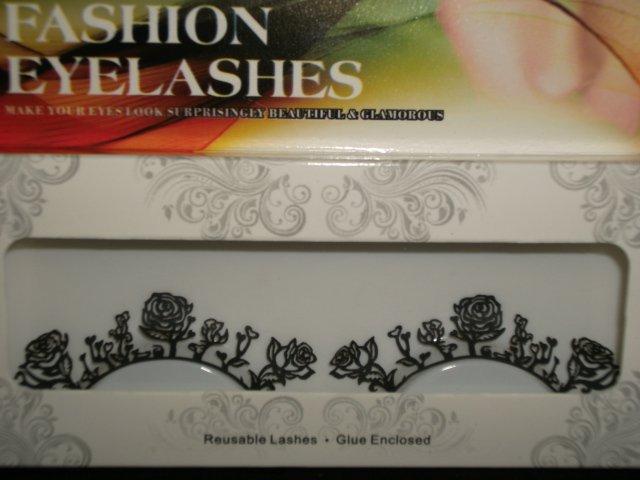 #31 Fashion fake reuseable eyelashes (flower picture) G NBU NBW NBO