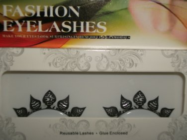 #33 Fashion fake reuseable eyelashes (leaves picture) G NBU NBW NBO