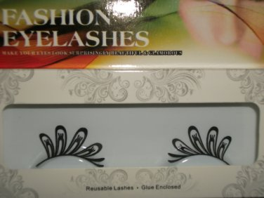#34 Fashion fake reuseable eyelashes (pattern picture) G NBU NBW NBO