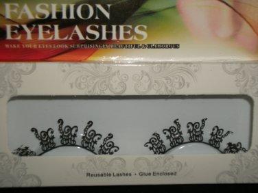#35 Fashion fake reuseable eyelashes (pattern picture) G NBU NBW NBO