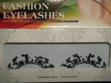 #38 Fashion fake reuseable eyelashes (angel picture) G NBU NBW NBO