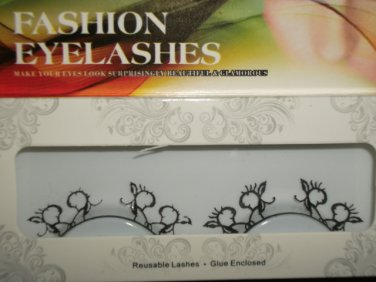 #39 Fashion fake reuseable eyelashes (pattern picture) G NBU NBW NBO