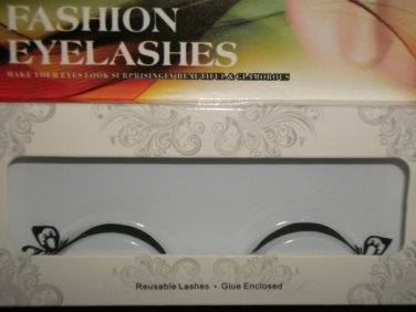 #42 Fashion fake reuseable eyelashes (leaves picture) G NBU NBW NBO