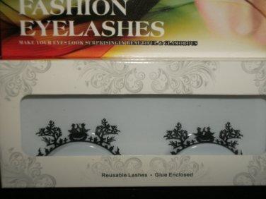 #43 Fashion fake reuseable eyelashes (plant picture) G NBU NBW NBO