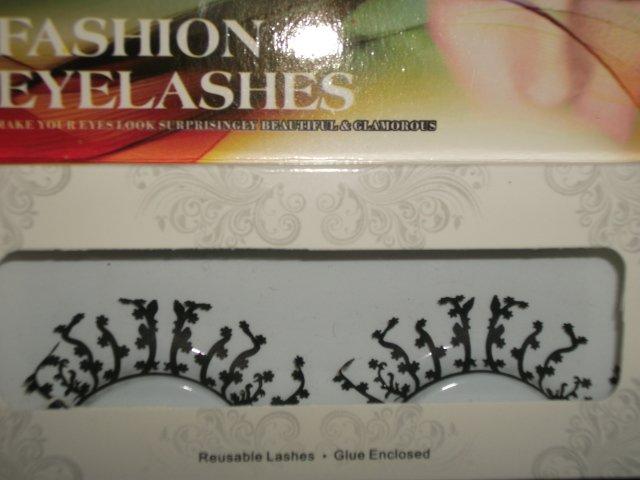 #46 Fashion fake reuseable eyelashes (plant picture) G NBU NBW NBO