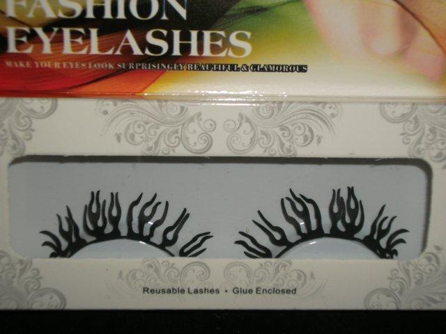 #47 Fashion fake reuseable eyelashes (plant picture) G NBU NBW NBO