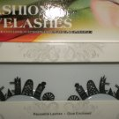#51 Fashion fake reuseable eyelashes (building picture) G NBU NBW NBO