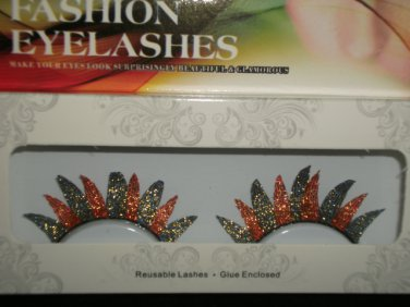 #55 Fashion fake reuseable eyelashes (colour pattern picture) G NBU NBW NBO