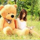 New 1.8m light brown soft toy bear G NBU