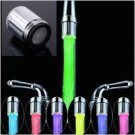7 Color RGB Colorful LED Light Water Shower Spraying Head Faucet Bathroom NBU