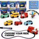 Inductive Car Toy Automatic Follow-Line You Draw Novelty Cars(Random Style)