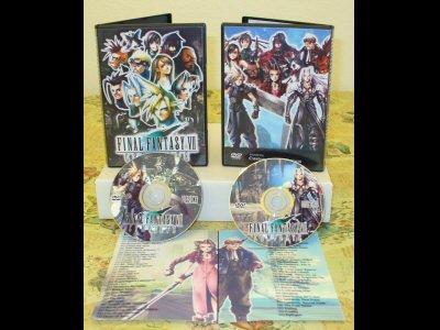 Final Fantasy VII Complete DVD Set