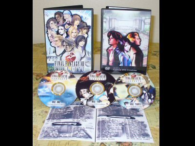 Final Fantasy VIII Complete DVD Set