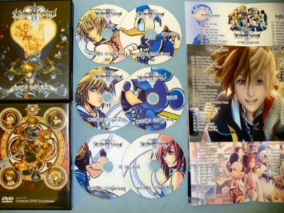 Kingdom Hearts II Cinema Anthology DVD Set