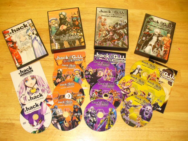 Ultimate .hack// Saga Cinema Anthology Bundle