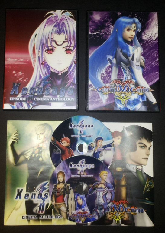 Xenosaga Episode II - Jenseits Von Gut Und Bose Cinema Anthology DVD Set