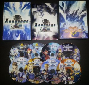 Xenosaga Trilogy Cinema Anthology DVD Set