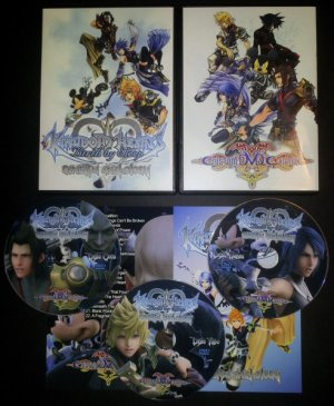 Kingdom Hearts: Birth By Sleep Cinema Anthology DVD Set