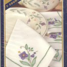 Bucilla Pfaltzgraff - April Pattern- Napkins