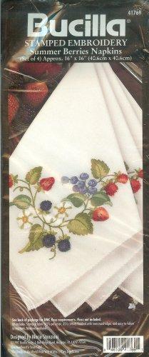 Bucilla Summer Berries Napkins