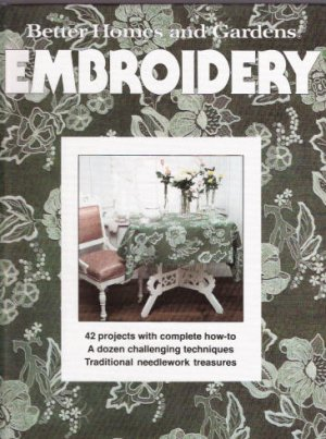 Better Homes and Gardens Embroidery