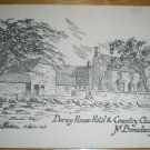 Dormy House Hotel & Country Club Broadway Postcard